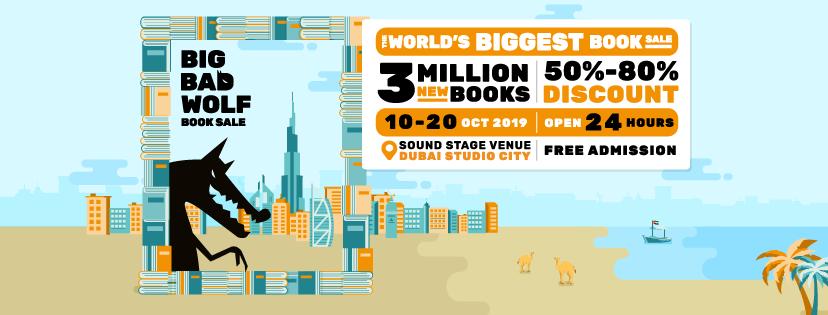 The world's biggest book sale!
