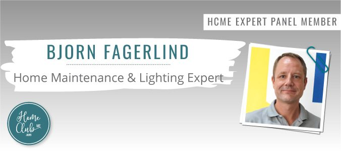 Bjorn Fagerlind from Handy Scandy - Home Club ME's Home Maintenance & Lighting Expert