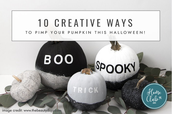 10 creative ways to pimp your pumpkin this halloween