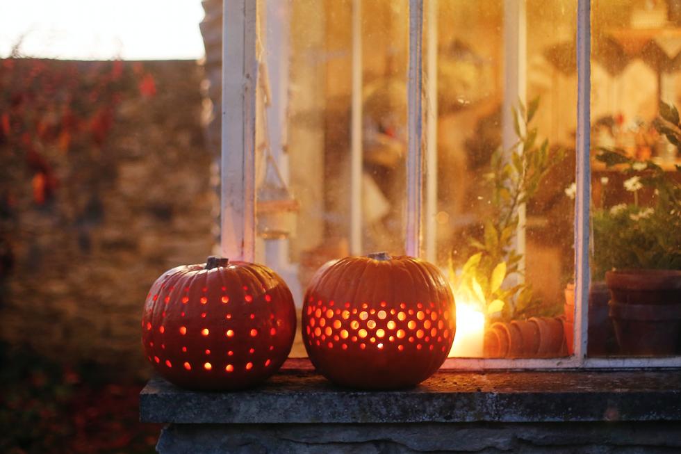 Pumpkin jack-o-lanterns