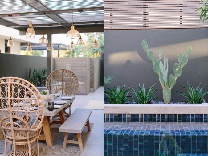 Chic garden design