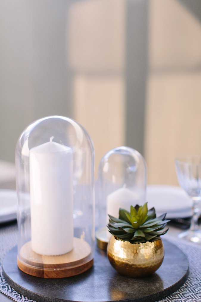 Garden candles and table accessories