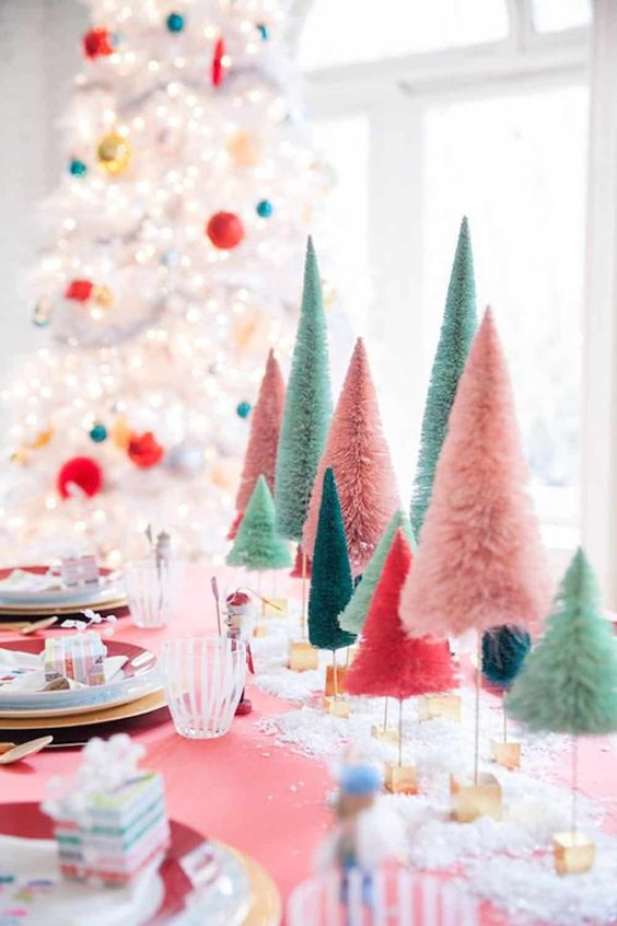 A festive tablescape from Home Club ME