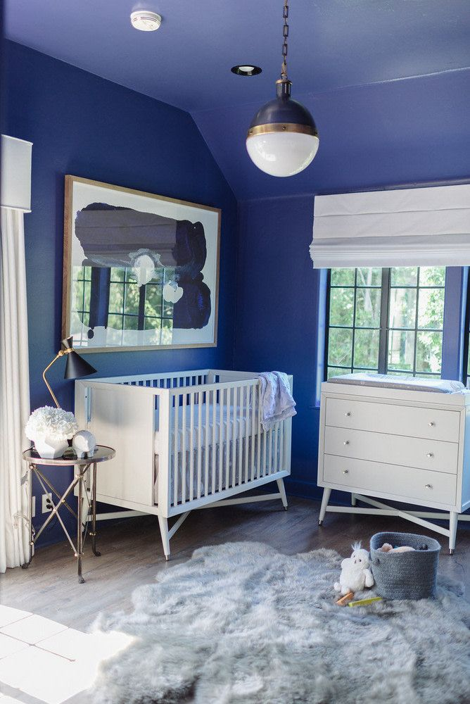 Beautiful blue nursery