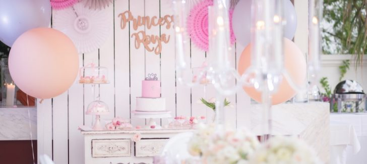 Princess themed birthday party