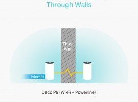 Tp-Link p9 mesh routers powerline info