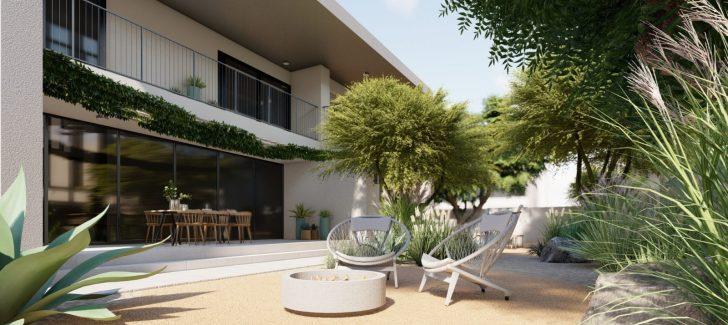 WILDEN Design Project - Dubai Hills - Fire pit landscaping